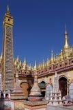 Mohnyin Thambuddhei Paya in Monywa in Myanmar Stock Photo