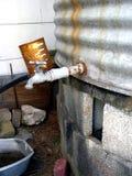 Moho del grifo de agua Imagen de archivo libre de regalías