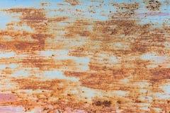Moho del hierro con el fondo de la corrosión fotos de archivo libres de regalías
