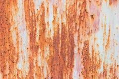 Moho del hierro con el fondo de la corrosión imagen de archivo