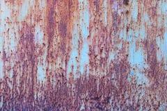 Moho del hierro con el fondo de la corrosión fotos de archivo