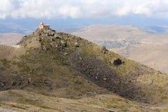 Mohon del Trigo Observatory in Sierra Nevada Stock Photo