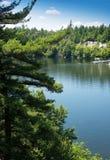 Mohonk湖 库存图片