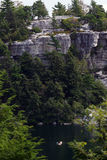 Mohonk Lake Boaters USA Stock Photography