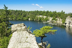 Mohonk Lake Stock Image