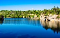 Mohonk Lake Stock Image