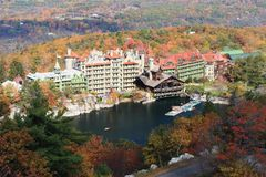 Mohonk Mountain House Royalty Free Stock Photography