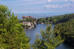 Mohonk Mountain House in New Paltz, New York Stock Photography