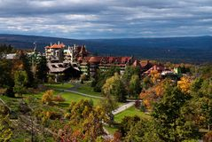 Mohonk Mountain House, NY. Fall stock image