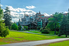 Mohonk Mountain House Stock Photo