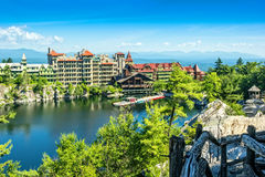 Mohonk Mountain House Royalty Free Stock Photos