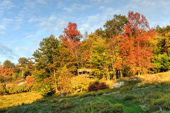 Mohonk Preserve. Nature in autumn in Mohonk Preserve in New Paltz, New York stock photos