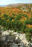 Mohonk Rock Slide Royalty Free Stock Images
