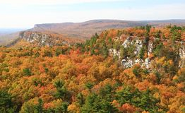 Mohonk Trapps Cliffs Stock Images