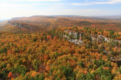 Mohonk Trapps Vista Stock Photo
