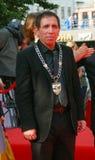 Mohsen Makhmalbaf bij de Filmfestival van Moskou Stock Afbeelding