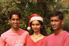 Moi et mes amis Photos libres de droits
