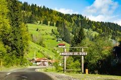 Moieciu De Sus Landscape Royalty Free Stock Photo