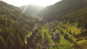 Moieciu góry dolina zdjęcie wideo