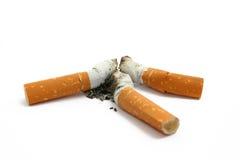 Moignons de cigarette Image stock