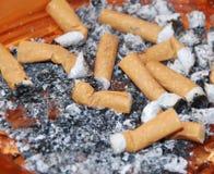 Moignons de cigarettes Photos libres de droits