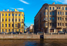 Moika Embankment. Saint Petersburg, Russia Stock Photo