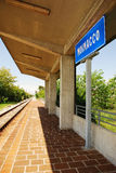 Moimacco Train Station, Italy Stock Photos