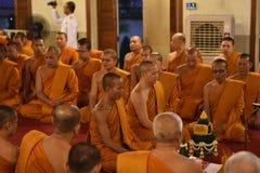 Moine bouddhiste Image libre de droits
