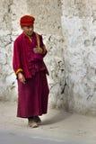Moine dans le ladakh Photographie stock libre de droits
