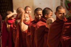Moine de Bagan images stock