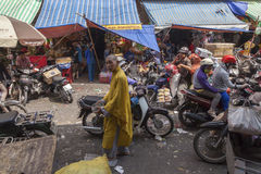 Moine de Budhist Photos libres de droits