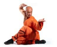 Moine de guerrier de Shaolin Image stock