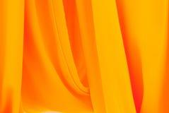 Moine jaune chiffonné Photos libres de droits