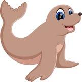 Moine Seal Animal Illustration de Vecteur