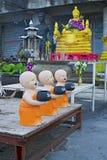 Moines bouddhistes Image libre de droits