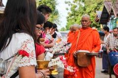 Moines bouddhistes Images libres de droits