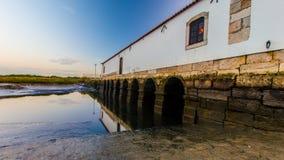 Moinho da Maré - Corroios - Seixal 库存图片