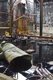 Moinho de açúcar abandonado Fotografia de Stock Royalty Free