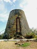 Moinho de açúcar da Antigua Fotos de Stock