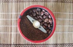 Moinho de café Fotos de Stock Royalty Free