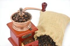 Moinho de café Imagem de Stock Royalty Free