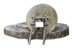 Moinho de cidra isolado no branco Foto de Stock Royalty Free