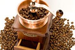 Moinho de Coffe Fotografia de Stock