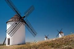 Moinho de farinha. La Mancha Foto de Stock Royalty Free