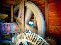 Moinho de farinha velho no rio Mura Fotografia de Stock