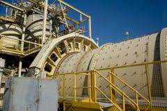 Moinho de giro de mineração Imagens de Stock Royalty Free
