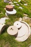 Moinho de pedra Fotos de Stock Royalty Free