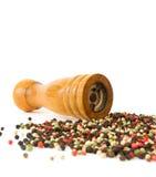 Moinho de pimenta Fotos de Stock