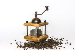 Moinho de pimenta velho Imagem de Stock