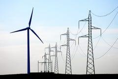 Moinho de vento Fotografia de Stock Royalty Free
